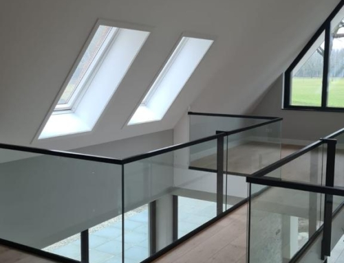 Strakke Like Steel balustrades